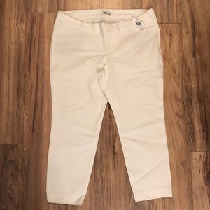 Pixie Chino White Old Navy 18P